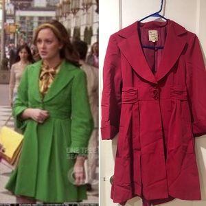Nanette Lepore bow coat 8 Gossip Girl Blair